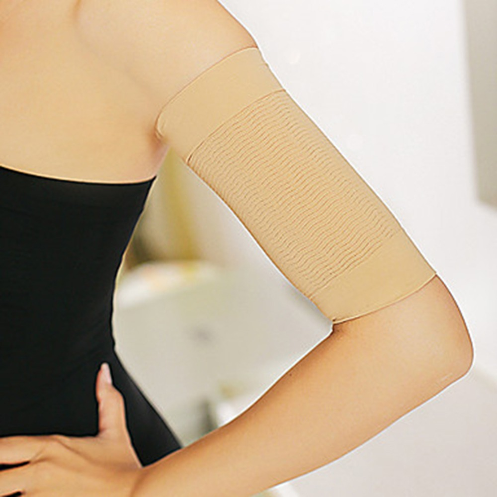 NEW 1pair Thin Forearms Hands Shaper Burn Fat Belt Compression Arm Slimming Sleeve Quality
