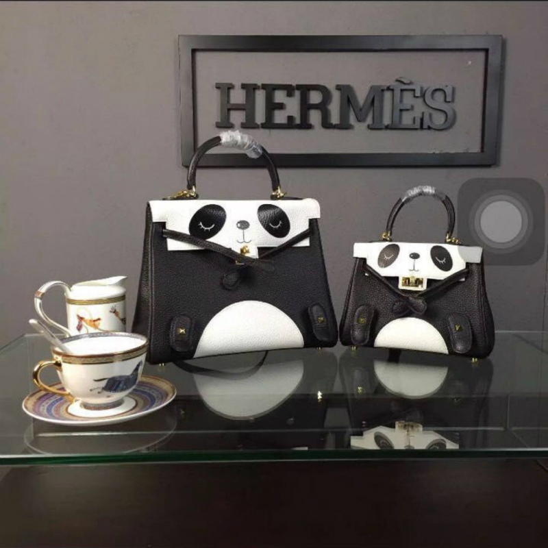 2018 Fashion lovely sweet Ladies panda handbag Female PU Leather Shoulder Bag bolsa feminina Brand Casual Luxury Women Bags imido new fashion handbag pu leather bags women casual tote shoulder bag crossbody luxury brand bolsa feminina orange red hdg076