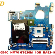 Original for Samsung NP300E4C laptop motherboard NP300E4C HM70 GT620M 1GB BA92-1