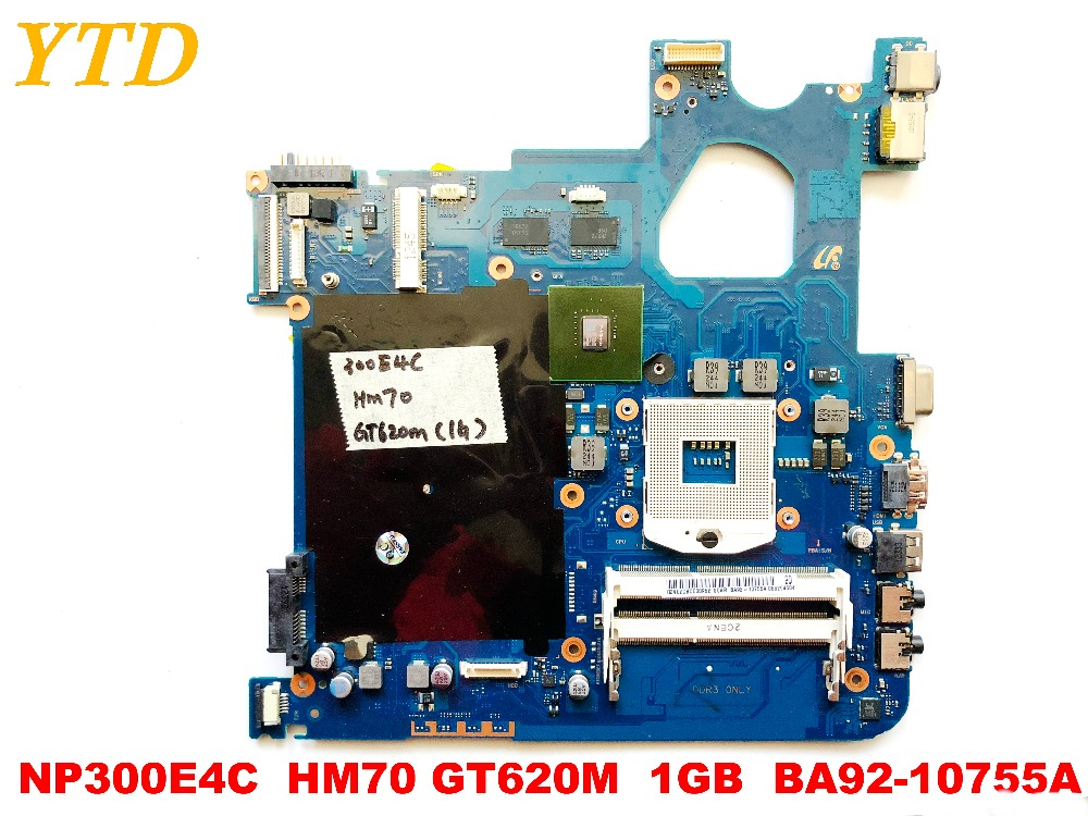 Original For Samsung NP300E4C  Laptop Motherboard NP300E4C  HM70  GT620M  1GB  BA92-10755A  Tested Good Free Shipping