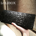 Women Black Sheer Sequined Evening Bags Clutch Hard Box Clutches Bags Day Clutch party Purse Evening Party bag Ladies bags