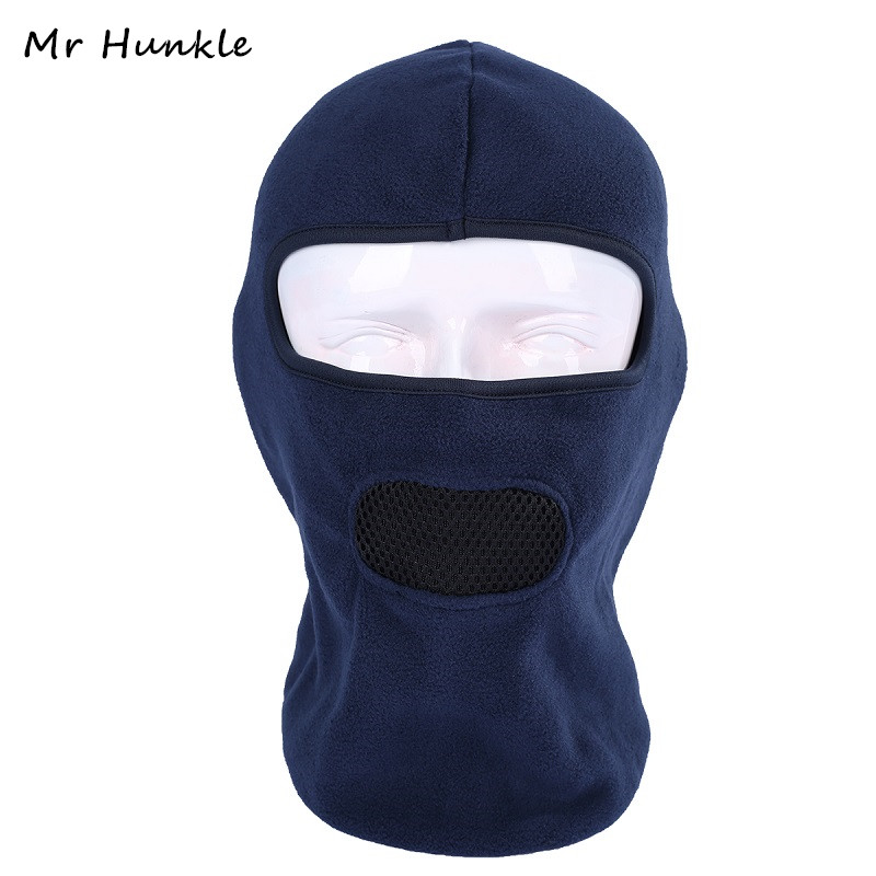 Mr Hunkle 2017 New Fashion Fleece Balaclava Neck CS Hat Hood out door activities Sking Bicycle Full Face Skull Mask Hat Cap airsoft adults cs field game skeleton warrior skull paintball mask