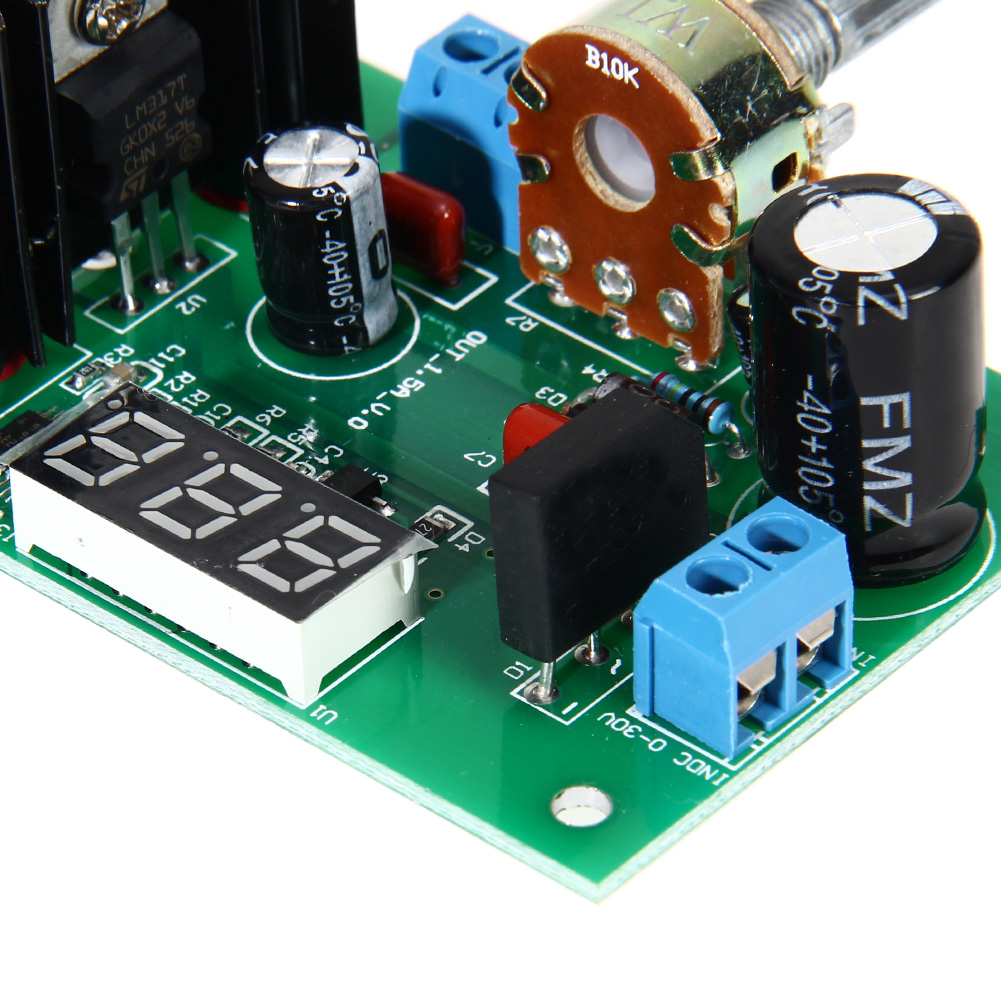lm317 ac dc adjustable voltage regulator step down power supply rh aliexpress com LM317T Voltage Regulator Circuit LM317 Voltage Regulator Schematic