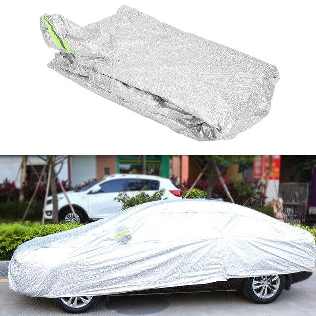 VGEBY Oversea Universal Aluminum Coating Full Car Cover Outdoor Waterproof Sun UV