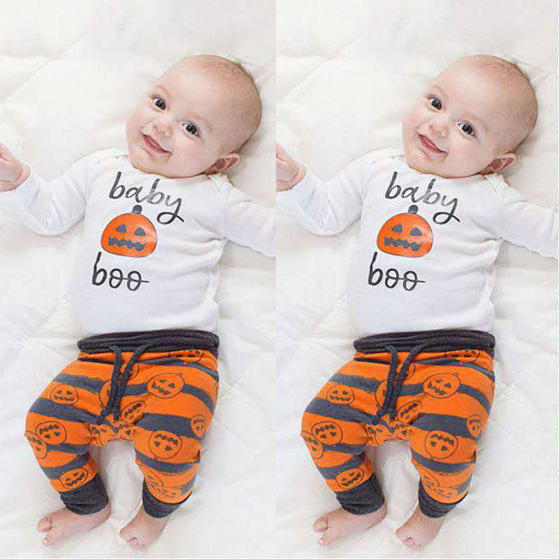 New Kids Clothes Girls Clothes Halloween Three-Piece Boys Clothes Children Clothing Boys Sets 2018 Toddler Girls Clothing Sets