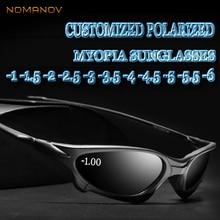 Custom Made Myopia Minus Prescription Polarized Lens Summer Style New Outdoor Sports Colorful Sunglasses -1 -1.5TO -6