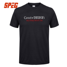 цена на Game Of Thrones T Shirts All Plxels Must Die Season 7 Men Organnic Pure Cotton Short Sleeve Tees 2017 Letter Men T-Shirt Male