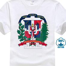 d245c710d quality printing Popular Dominican Republic Coat Of Arms Shirt 3D Printed Men's  T Shirt High Quality Short Sleeve Tees