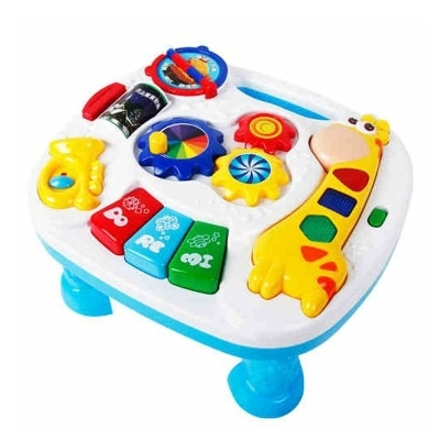 Activity & Gear Free Shipping Musical Baby Learning Table Discovering Activity Baby Table Educational Game Toys