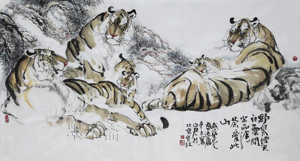 Free Shipping Huge/1PC Traditional Chinese Painting ...
