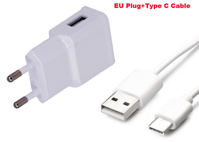 2A EU Type C USB Mobile Phone Charger Adapter For Nokia 9,Lumia 950/950 XL,For Lenovo Zuk Z2 Pro,For HTC U11,For Nokia 6 (2018)