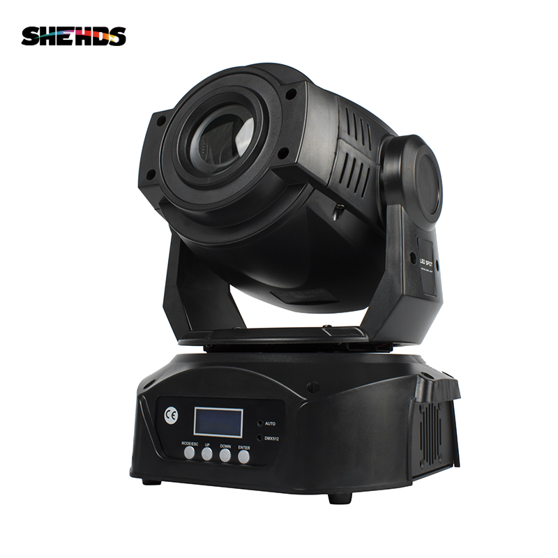 LED Spot 90W 3 Prism DMX512 Stage Effect Lighting For DJ Disco Party Nightclub Dance Floor And Wedding Decoration Fast Shipping