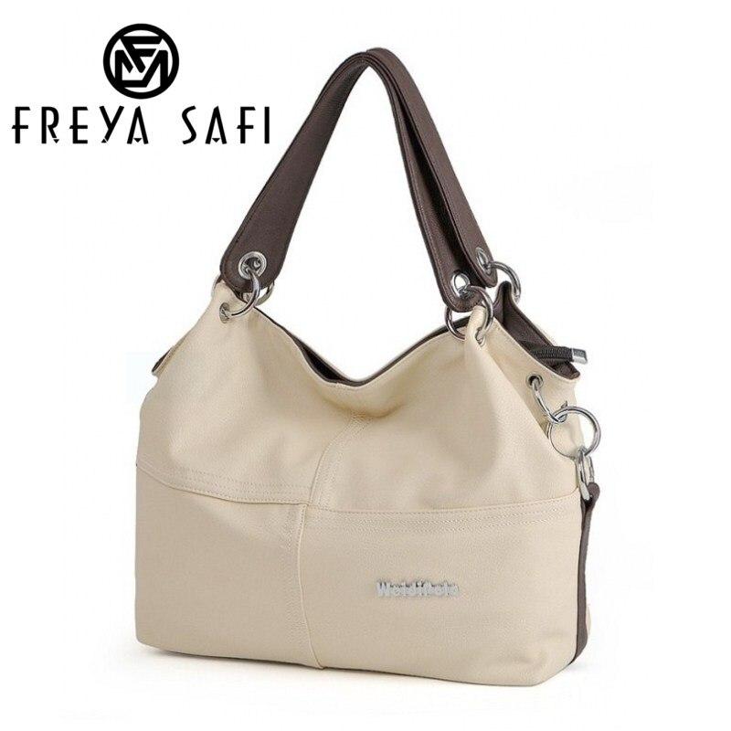 Freya Safi Hot Retro Vintage frauen PU Handtasche Tote Trendige Schultertasche Messenger Bag umhängetasche Bolsas