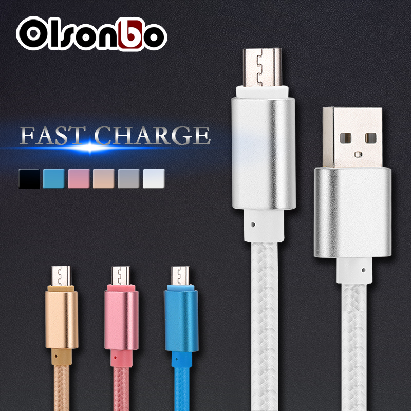 5V 2A Micro Usb Cable Mobile Phone Cables