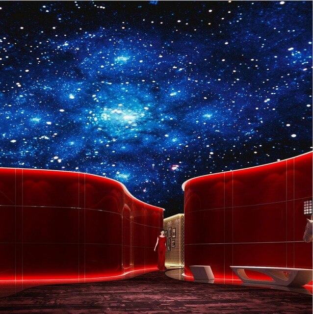 Starry night pub e bar teto sala de estar teto do quarto murais de parede papel de parede murais