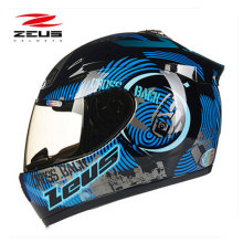 Motorcycle ABS helmet Motorbike motorcross Upscale Protective Gear full face motorcycle helmet easy clasp closure DOT ZEUS ZS801