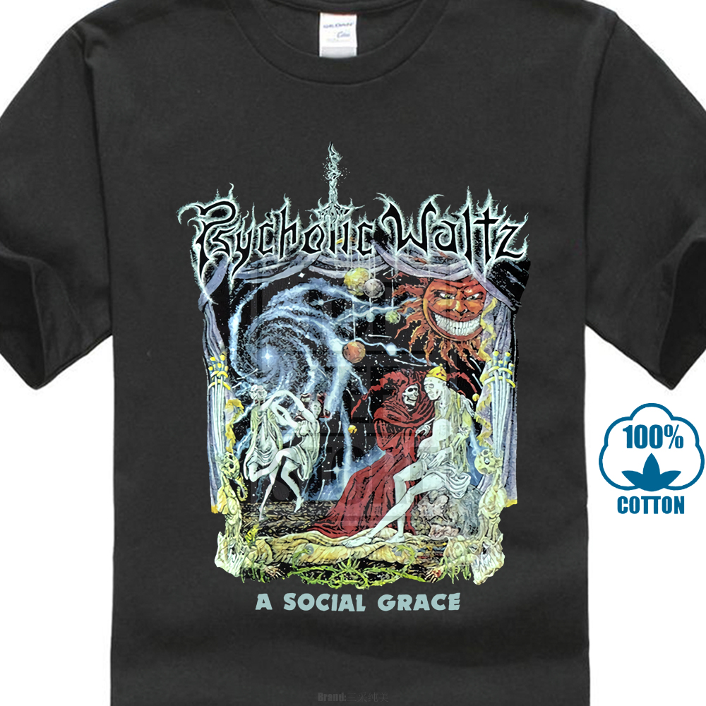 Psychotic Waltz A Social Grace 1990 Album Cover T Shirt