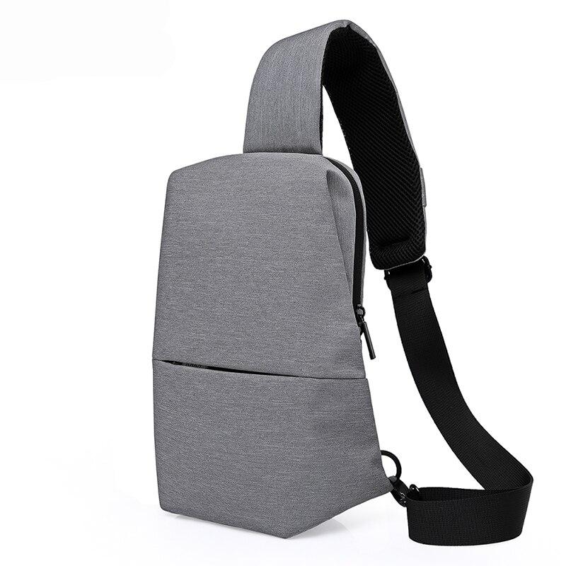 2019 Neue Unisex Männer Umhängetasche Brust Pack Marke Design Koreanische Und Japan Stil Einfache Frauen Schulter Cross Body Taschen Für Ipad Diversifizierte Neueste Designs