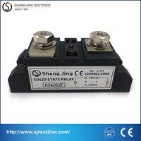 100% בסיס נחושת אדום מוליבדן שבב הנוכחי 400A 3 ~ 32VDC קלט פלט 35 ~ 480VAC (DC-AC) אחת תעשיית pahse ממסר מצב מוצק