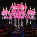 Moderne K9 Kristall Glas Kerze Luxus Europäischen Chandlier Licht für Home Hotel Decor