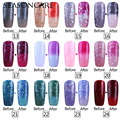 Lavander UV lamp gel Chameleon Temperature varnish Change Color nail gel color soak off uv gel nail polish manicure