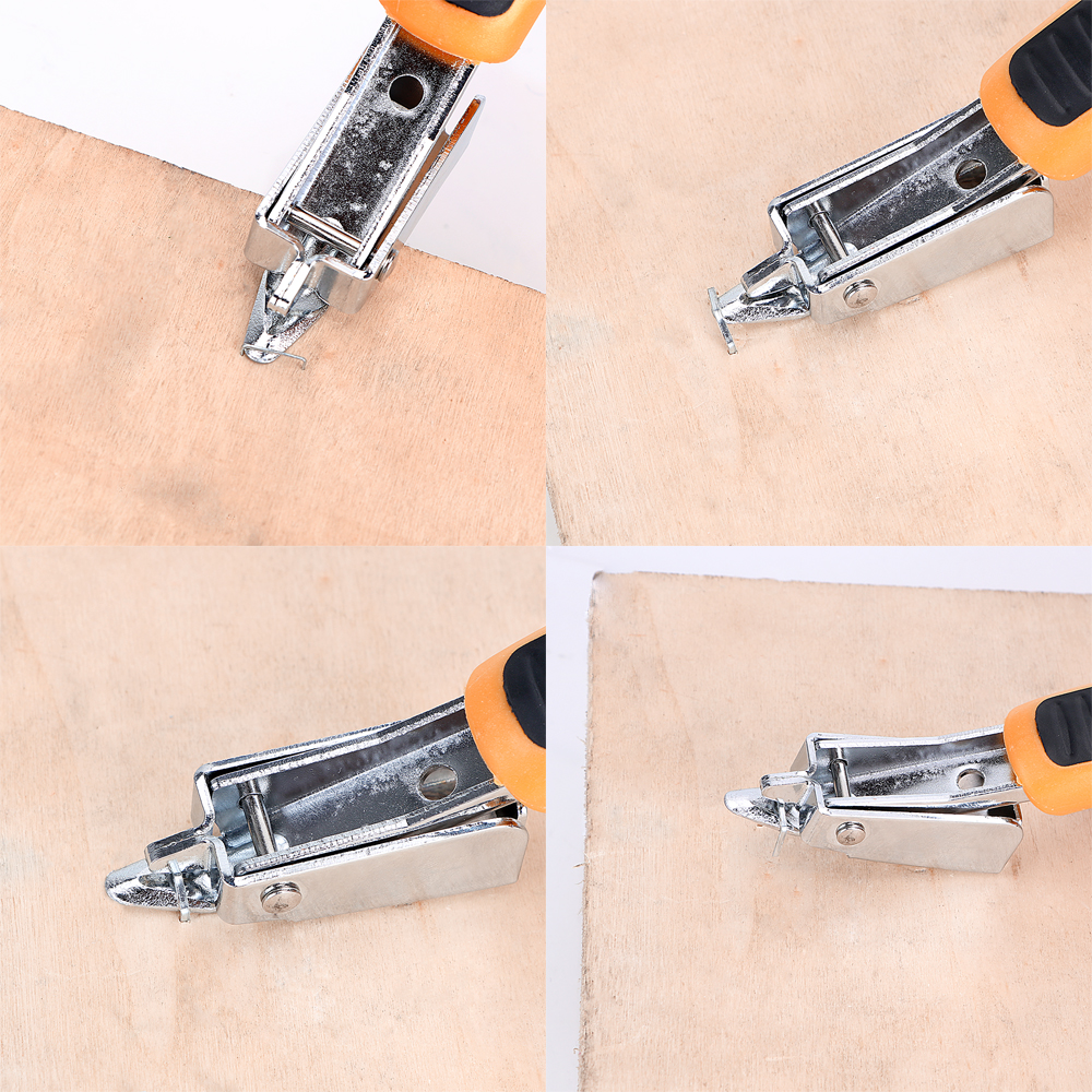 DIYWORK Hand Tool Staple Puller Lever Nail Remover for Furniture Stapler Upholstery Framing Woodworking etc