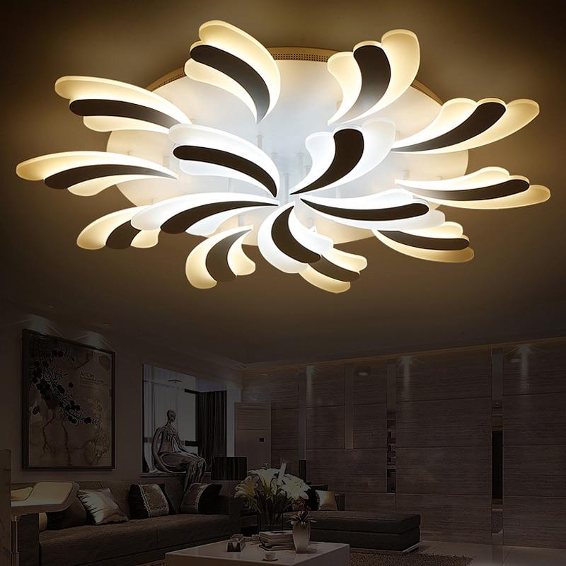 Aliexpress Com Buy New Flower Led Ceiling Lights For