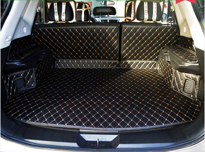 Top carpets! Special trunk mats for NIssan X-trail T32 2017 durable waterproof boot carpets for XTRAIL 2016-2014