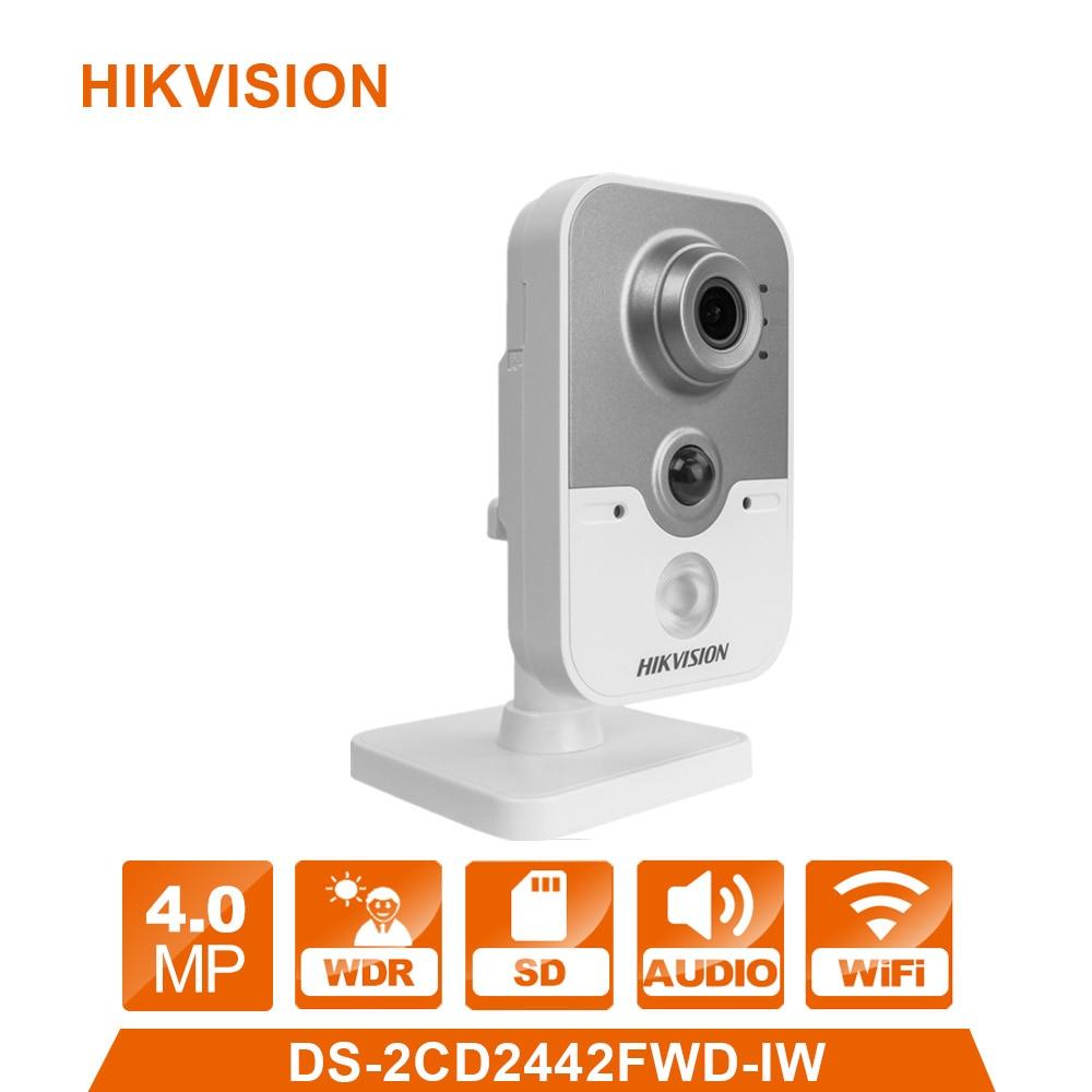 Wi Fi IP камера беспроводная камера Веб камера DS-2CD2442FWD-IW 4.0MP видикам видеонаблюдения сигнализации Системы CCTV