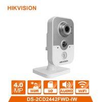 Wi Fi IP камера беспроводная камера Веб камера DS 2CD2442FWD IW 4.0MP видикам видеонаблюдения сигнализации Системы CCTV