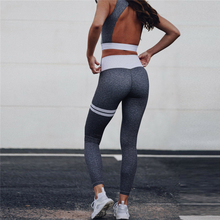 Gym Set Seamless Leggings Patchwork Leggings Fitness Suit Sport Stretchy Tracksuit Yoga Set Women Running Jeggings stretchy sport leggings