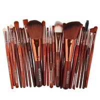 Brush Kit Beauty Tools 22 Pcs Eye Shadow Applicator