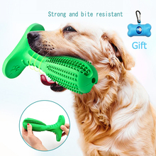Rubber Chew Toys for Dog Toothbrush Pet Molar Tooth Cleaner Brushing Stick Doggy Puppy Dental Care Supply Bite-Resistant