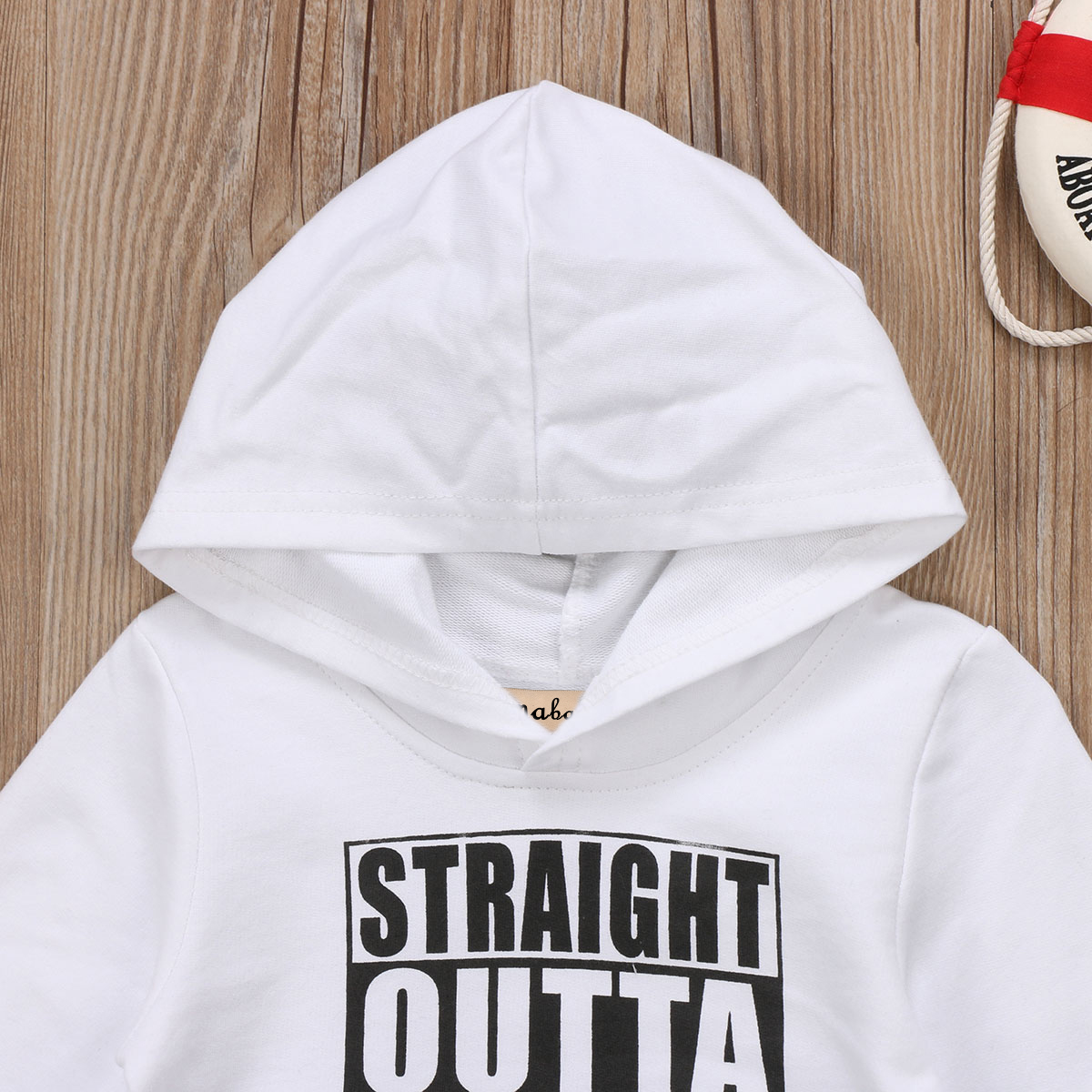 4c1adadf45fb 2017 wholesale toddler baby boys cute Letter Print hooded jacket ...