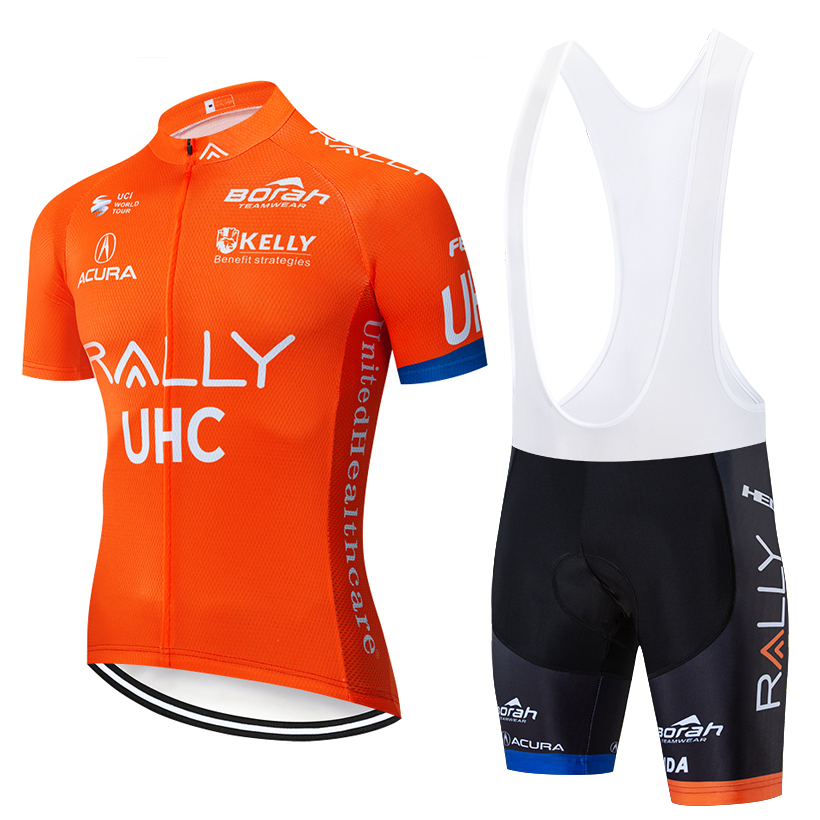 2019 NEW UHC Pro Cycling Clothing Bike jersey Quick Dry Bicycle clothes mens summer team Cycling Jerseys 20D bike shorts set2019 NEW UHC Pro Cycling Clothing Bike jersey Quick Dry Bicycle clothes mens summer team Cycling Jerseys 20D bike shorts set