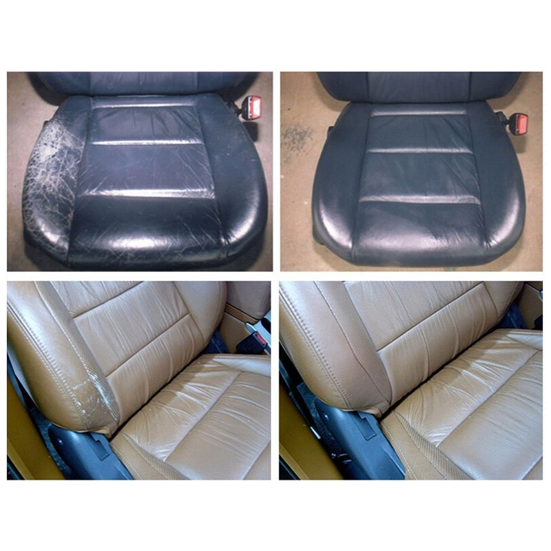 Auto Car Seat Sofa Crack Rip No Heat Liquid Leather Vinyl Repair Kit ...