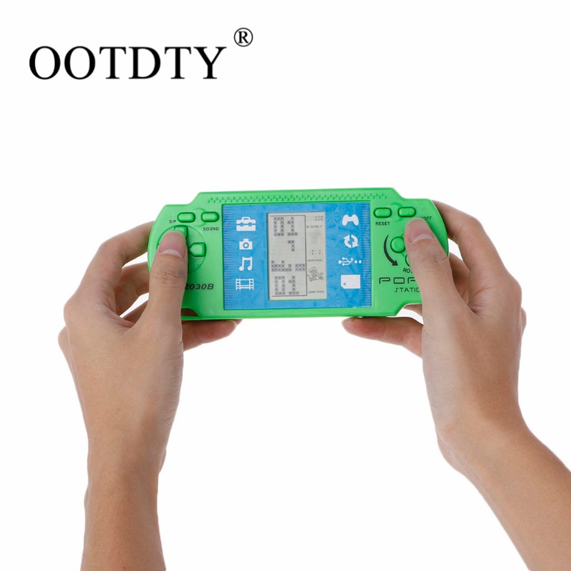 Classic nostalgia Gaming Tetris Portable Handheld Game Console Childrens classic Game hand-held gaming device For PSP Gaming