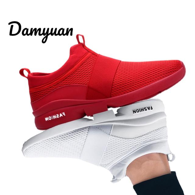 Damyuan 2019 Mới Cổ Điển Thời Trang Giày Nam Nữ Flyweather Thoải Mái Breathabl Không da Thời Trang Giày Nhẹ