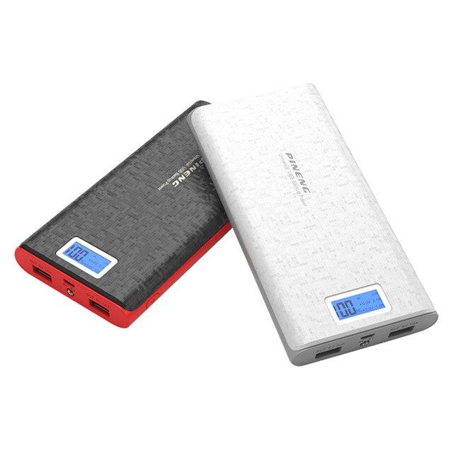 Оригинал Универсальный 20000 мАч Банка Мощность СВЕТОДИОДНЫЙ Индикатор Портативный Внешнее Зарядное Устройство Power Bank для iphone 5 5s 6 s plus Xiaomi
