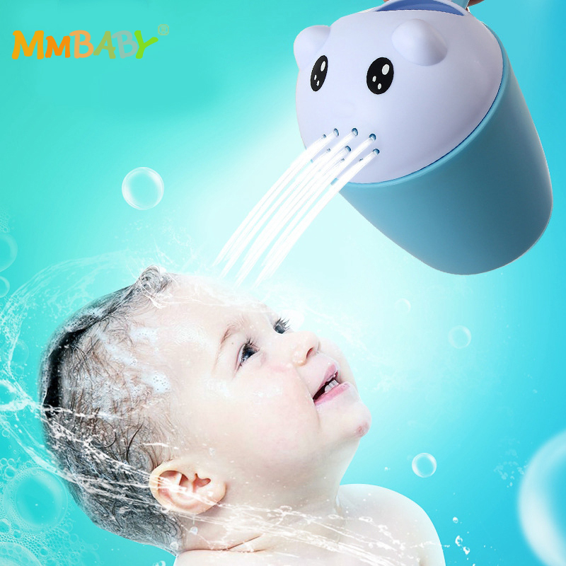 MMBABY Cartoon Baby Shower Water Spoon I