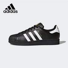 Official New Arrival Adidas Originals Superstar Unisex Skateboarding Shoes Sneakers Classique Shoes Hard-Wearing