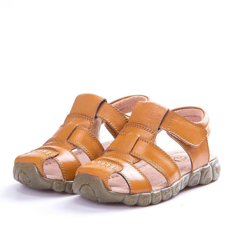 Afdswg Mädchen Sommer Schuhe 100% Leder Sandalen Für Kinder Gelb Schuh Sport Männlichen Weißen Sandalen Kinder Schwarz Sandalen Für Jungen Kaufe Jetzt