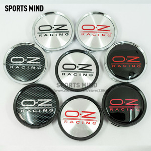 Image 1 - 4PCS/lot 75MM Car Wheel Center Hub Caps for OZ  RACING WHEEL Emblem Logo Car Styling Accessories