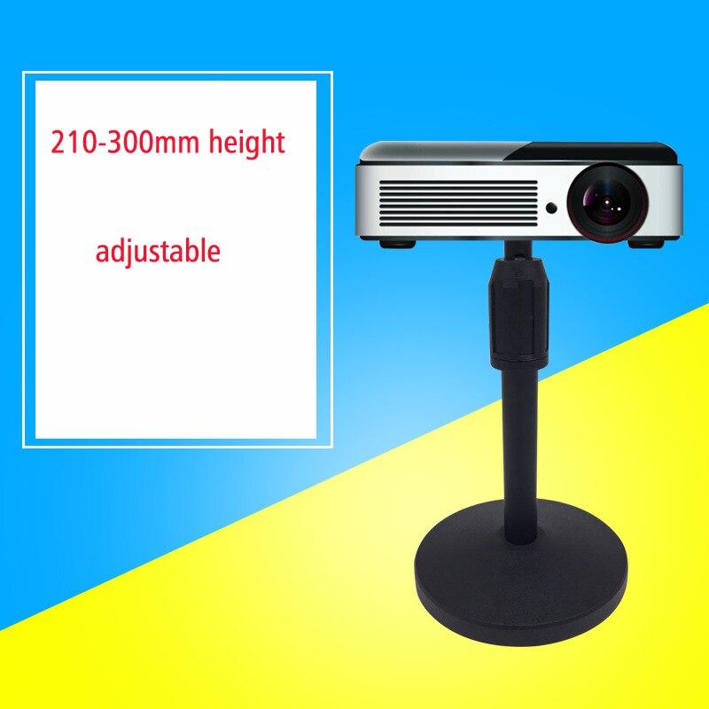 Pma-t2 Höhenverstellbar 21-30 Cm Stahl Kleinen Mini Projektor Tischmontage Tisch Halterung Halter Stehen