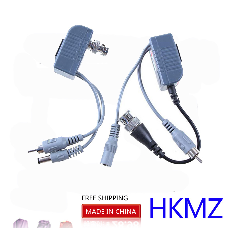 YiiSPO Hot selling Video Balun Transceiver BNC UTP RJ45 With Audio Video And Power Over CAT5/5E/6 Cable For CCTV Camera дрель безударная metabo be 10 450вт 600133000