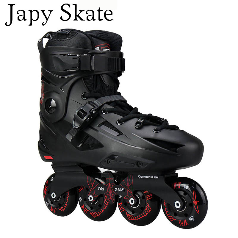 Japy Skate Flying Eagle F3s Inline Skates Falcon Professional Adult Roller Skating Shoe Slalom Sliding Free Skating Good As SEBAJapy Skate Flying Eagle F3s Inline Skates Falcon Professional Adult Roller Skating Shoe Slalom Sliding Free Skating Good As SEBA