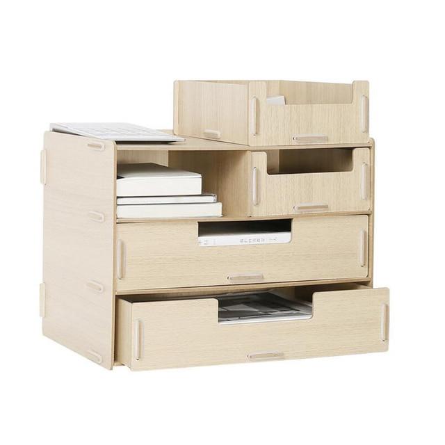Diy Holz Hand Made Organizer Office Schulbedarf Schichten Schubladen  Dateiablage With Holz Schubladen