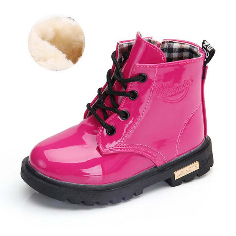 Waterproof Solid Jelly Color Martin Boots 2