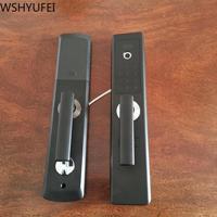 Biometric fingerprint door lock smart electronic lock fingerprint verification password swipe sensor unlock new home decoration