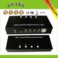 Внешний 7.1-канальный 3D usb 7.1 звуковая карта звуковой адаптер Sound Box Поддержка Цифрового Потокового Аудио Vista, Оптовая Бесплатная Доставка